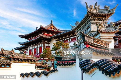 ancient chinese architecture stock photo | thinkstock