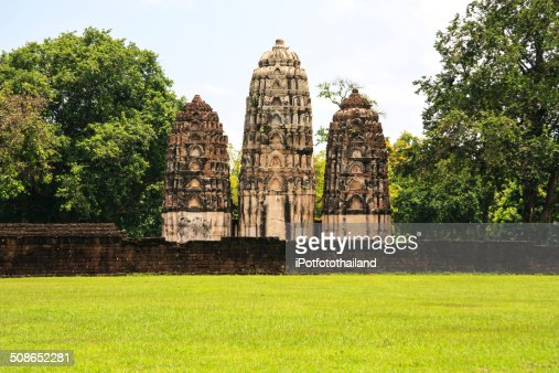 Ancient city in Thailand : Stock Photo