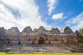 The ancient city Uxmal in Yucatan.