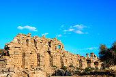 Ancient City Of Perge Near Antalya Turkey