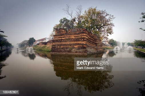 Ancient City Wall, Chiang Mai, Thailand