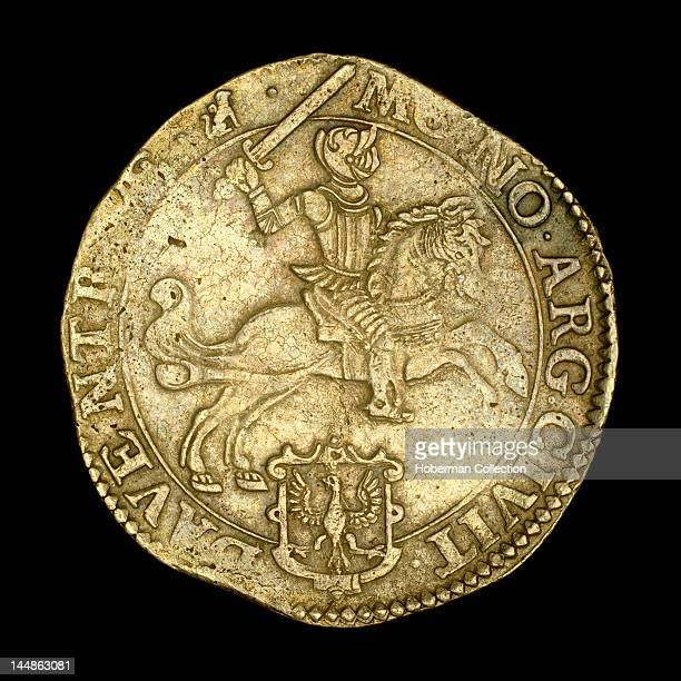 Ancient Coin depicting Knight on Horseback