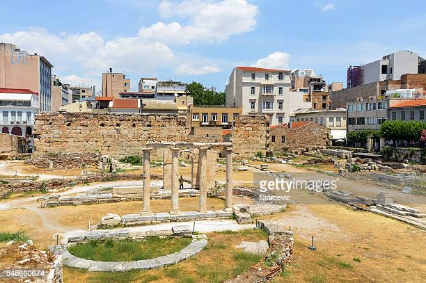 Ancient Greek Ruins - The Ancient Agora in Athens, Greece