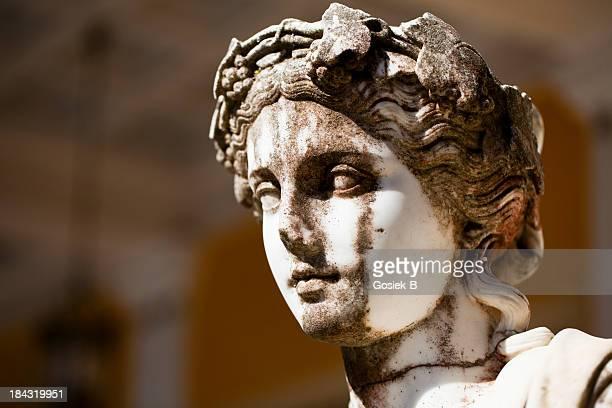 Antike griechische statue, Korfu