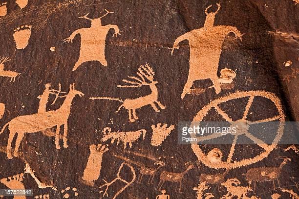 Alte Hieroglyphenschrift