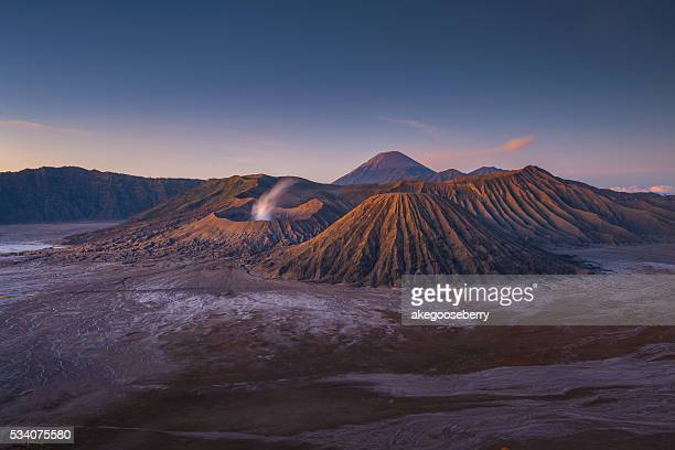 Ancient Hindu temple at Bromo volcano ,Indonesia