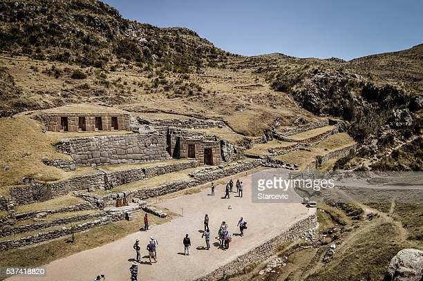 Ancient Inca ruins - Tambomachay near Cusco, Peru