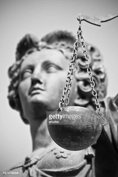 ancient Justitia portrait