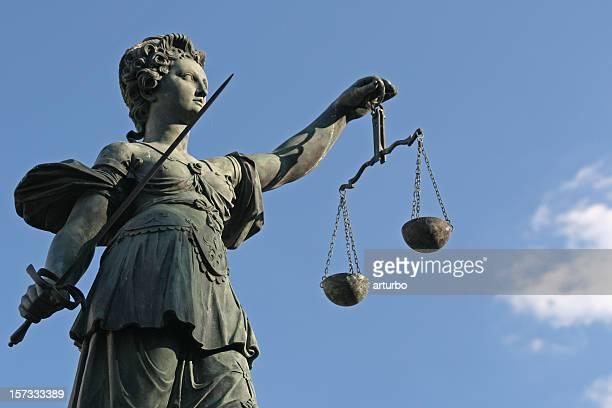 Alte Lady Justice-statue