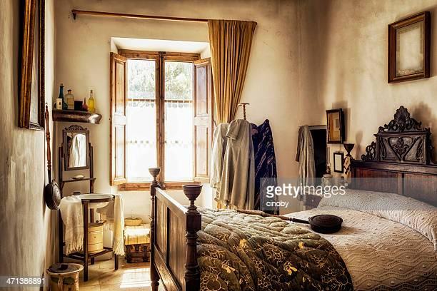 古代のマヨルカのベッドルーム