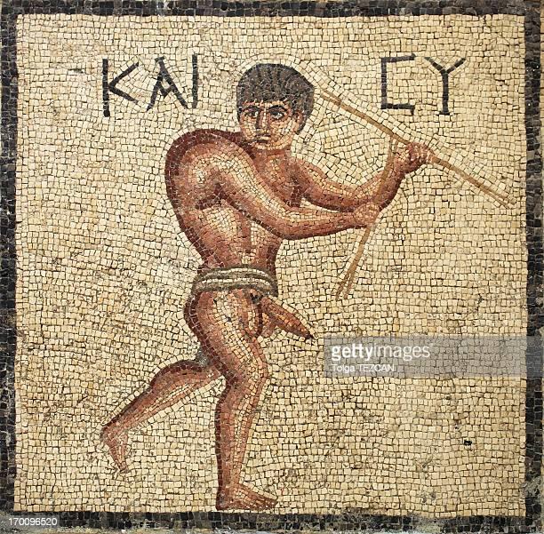 Antigua mosaicos en Antakya (Hatay), Turquía