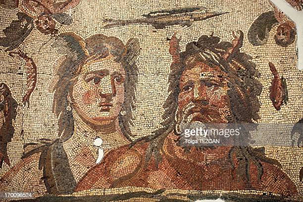 Ancient mosaics in Antakya (Hatay), Turkey