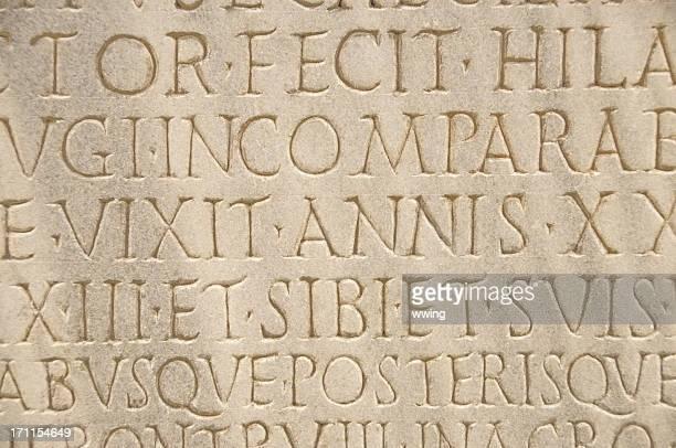 Ancient Roman Lettering