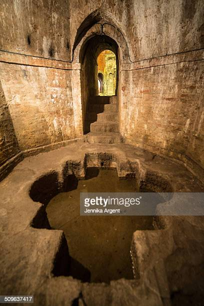 Ancient roman underground aquifer