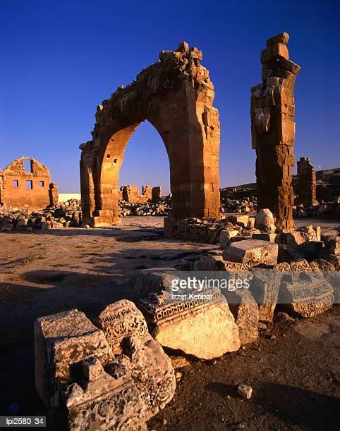 Ancient ruins, Low angle view, Harran, Turkey