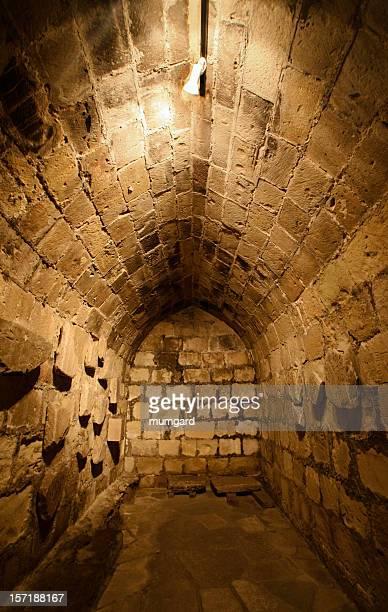 Ancient sandstone tomb