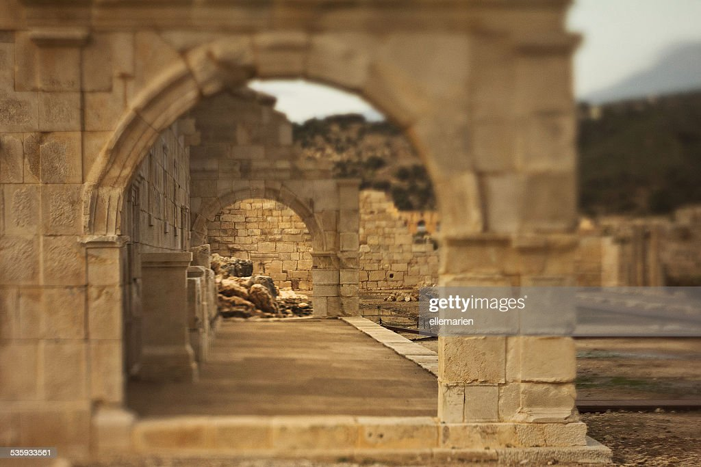 Ancient stone arch in Lycia : Stock Photo