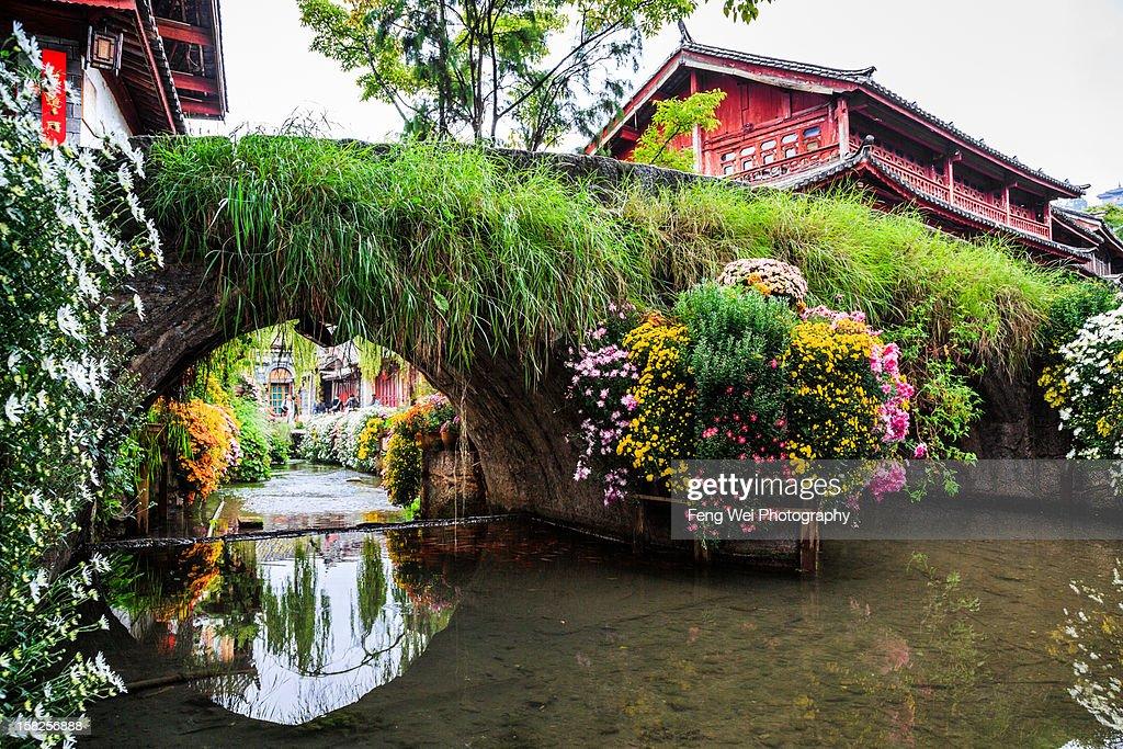 Ancient Stone Bridge, Lijiang Yunnan China