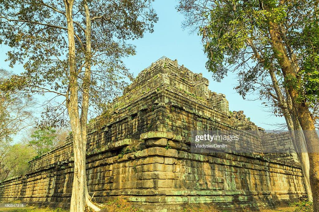 Antigo Templo de Bang Melea, Camboja : Foto de stock