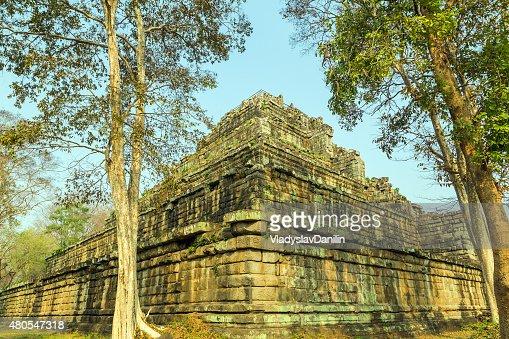 Ancient Temple of Bang Melea, Cambodia : Stock Photo