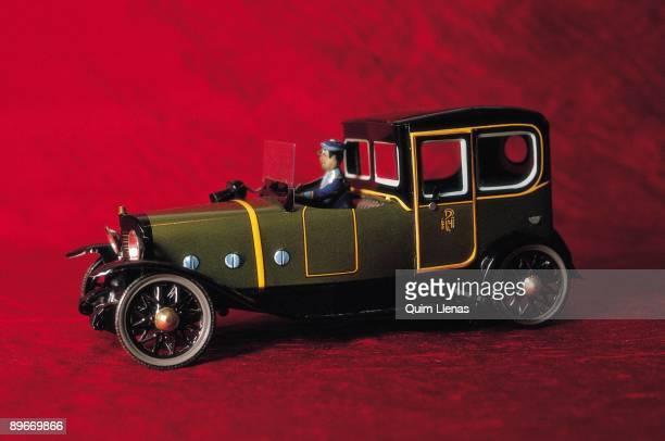 Ancient toys of tin Car
