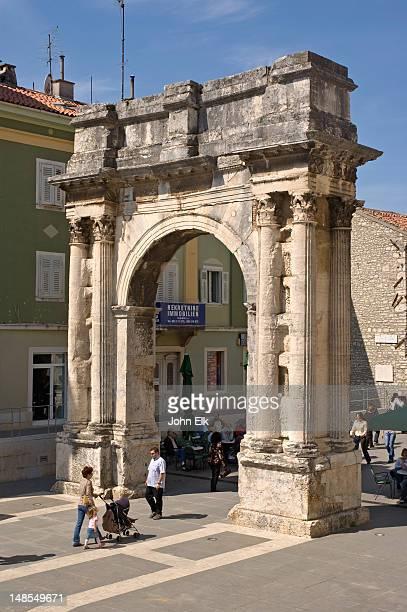 Ancient Triumphal Arch of Sergius.