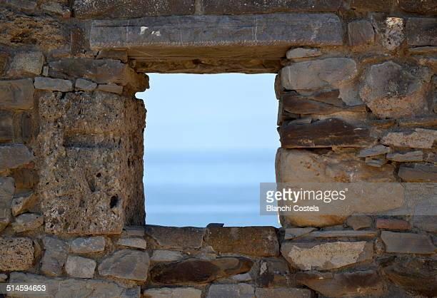 Ancient wall in Baelo Claudia ruins