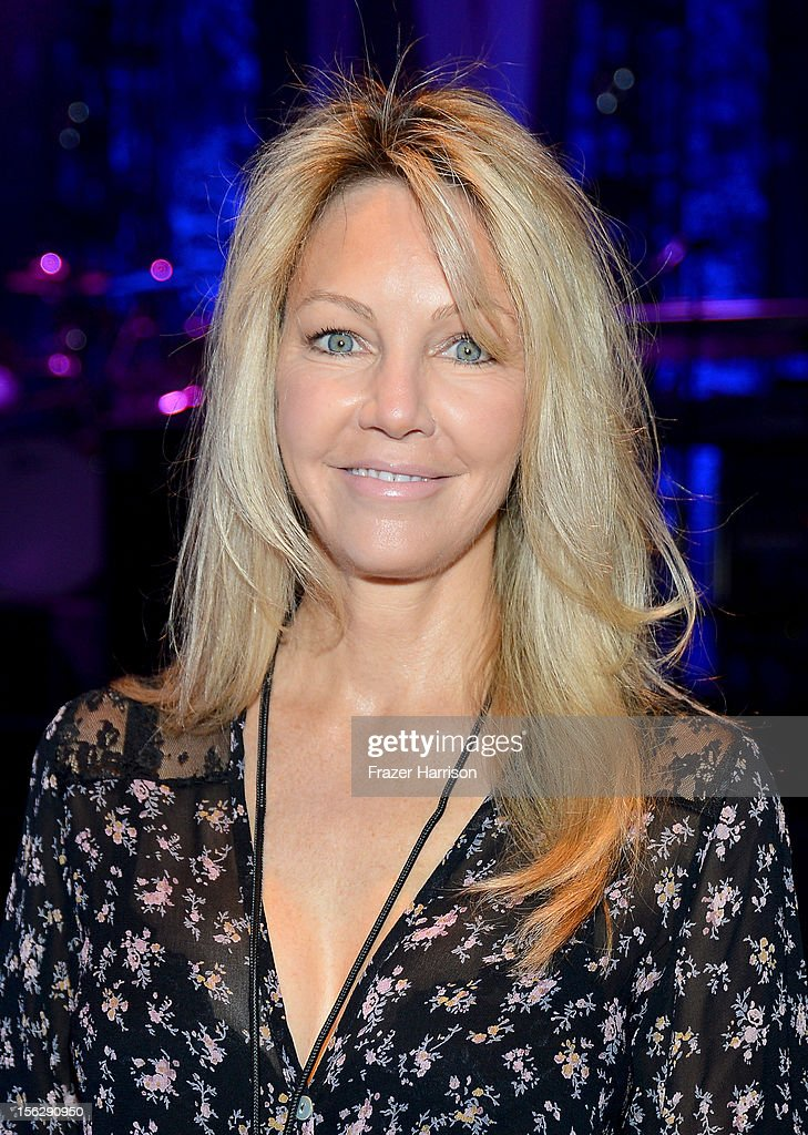 and actress Heather Locklear attend the St. John's Health Center's Power Of Pink benefiting The Margie Petersen Breast Center at Sony Studios on November 12, 2012 in Los Angeles, California.