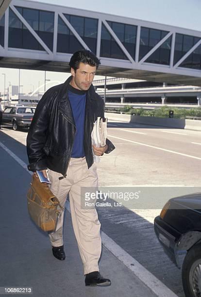 and Alec Baldwin during Alec Baldwin and Kim Bassinger Sighting at Los Angeles International Airport May 22 1990 at Los Angeles International Airport...