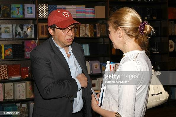 and Alice Judelson attend Patrick McMullan Book Signing at Barnes and Noble Astor Place on May 25 2006 in New York City