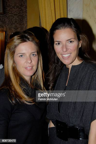 and attend MARIA HATZISTEFANIS presents GLAMOTOX at a glamorous upper east side luncheon at The Carlyle on December 3 2007 in New York City