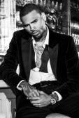 R and B singer Chris Brown is photographed for Blank Magazine on August 24 2013 in Los Angeles California COVER IMAGE