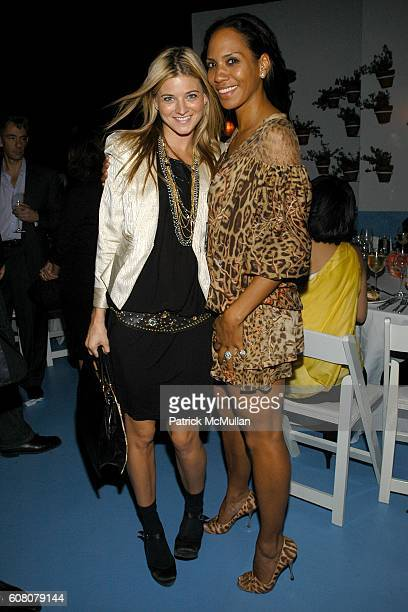 and Barbara Becker attend Rush Philanthropic Dinner hosted by Russel Simmons and Kehinde Wiley at The Delano on December 6 2006 in Miami Beach FL