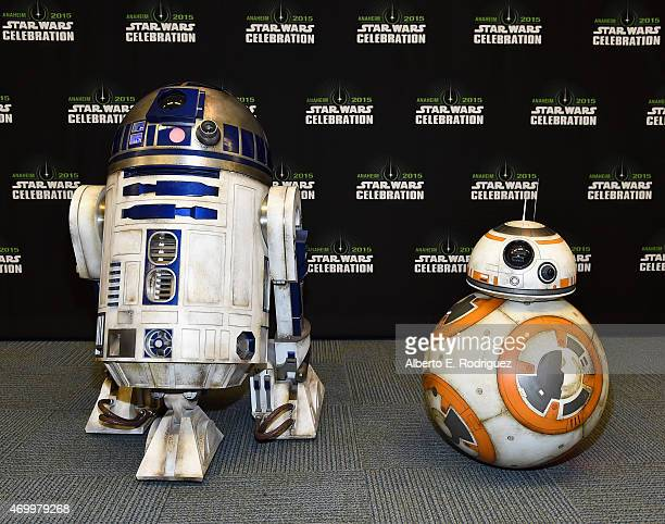 and BB8 attend Star Wars Celebration 2015 on April 16 2015 in Anaheim California