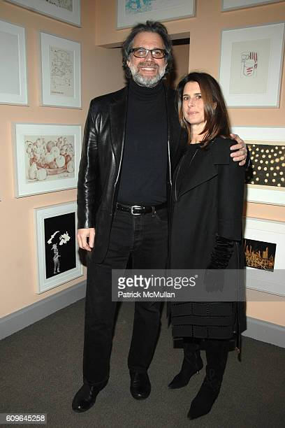 and Betsy Ross attend Robert De Niro Jane Rosenthal Host Dinner With Gucci For The Tribeca Film Institute at NYC on December 18 2007 in New York City