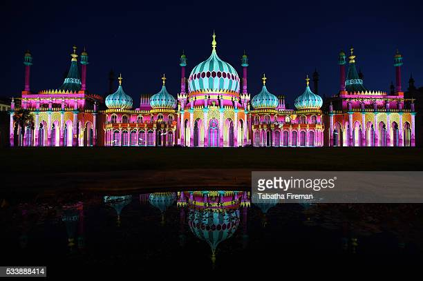 NOW and Brighton Festival light up Brighton Pavilion for Dr Blighty which commemorates the Indian soldiers who fought for the allies in the First...