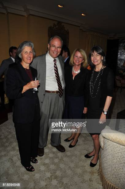 and Brooke Garber Naidich attend Dinner party to celebrate The Child Mind Institute's 2010 Adam Jeffrey Katz Memorial Lecture Series at The home of...