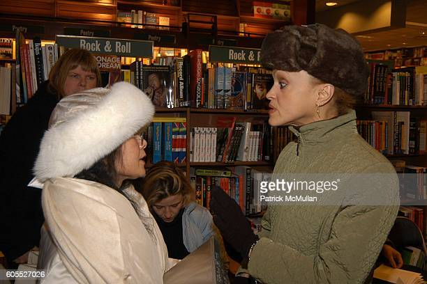 and Cari Modine attend Matthew Modine Book Signing for FULL METAL JACKET DIARY at Barnes Noble Book Store on January 4 2006 in New York City