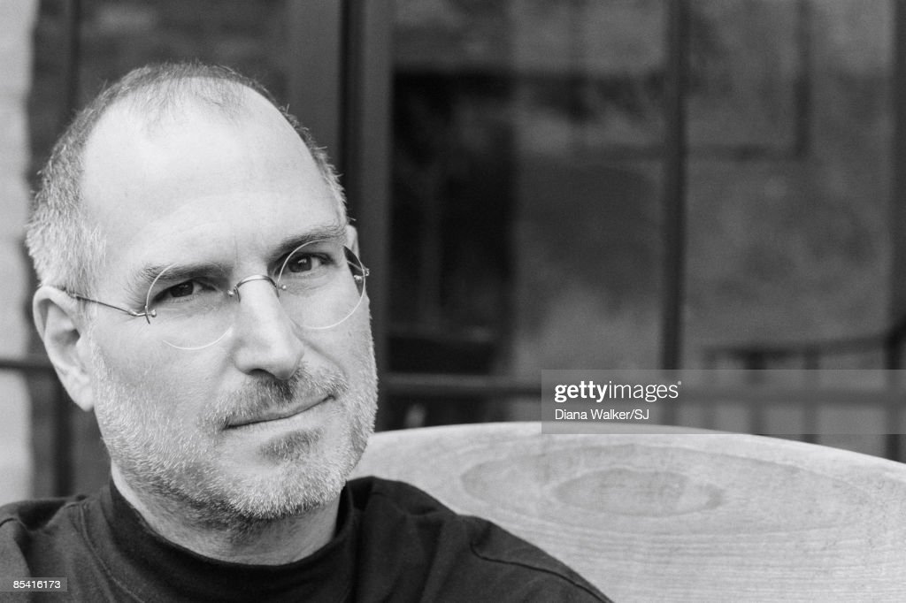 CEO and chairman of Apple, <a gi-track='captionPersonalityLinkClicked' href=/galleries/search?phrase=Steve+Jobs&family=editorial&specificpeople=204493 ng-click='$event.stopPropagation()'>Steve Jobs</a> at his Palo Alto home for Time Magazine December 7, 2004.