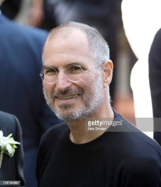 CEO and chairman of Apple Steve Jobs is photographed for Self Assignment on June 11 2006 in Sausalito California