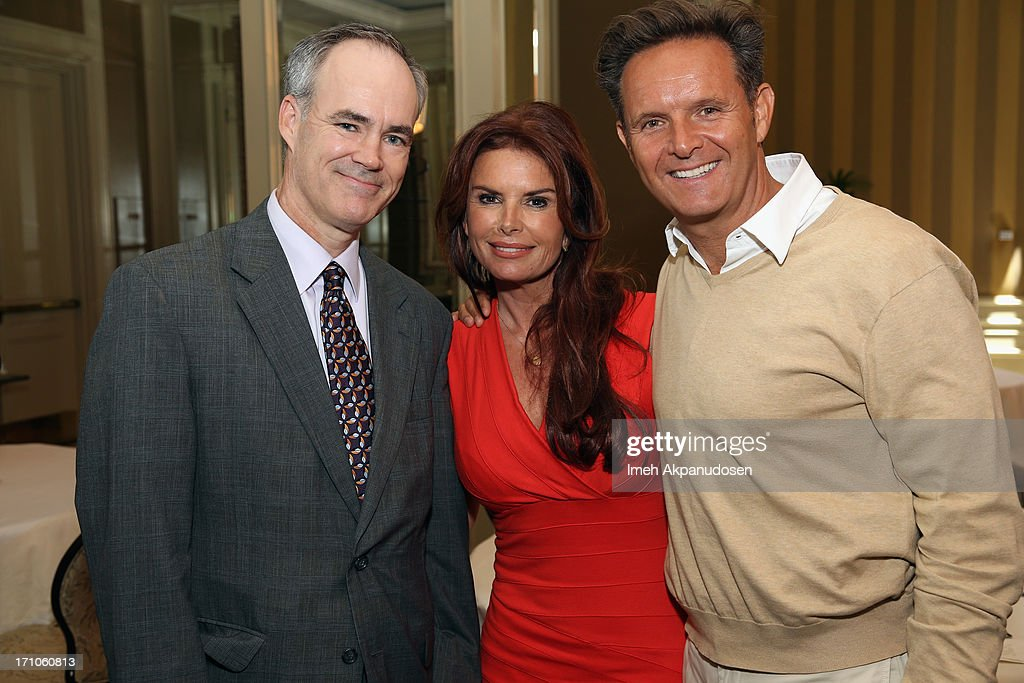 EVP and Chief Marketing Office of Walmart Stephen Quinn, Executive Producers Roma Downey and Mark Burnett attend Variety's Purpose: The Faith And Family Summit n Association with Rogers and Cowan at Four Seasons Hotel Los Angeles on June 21, 2013 in Beverly Hills, California.