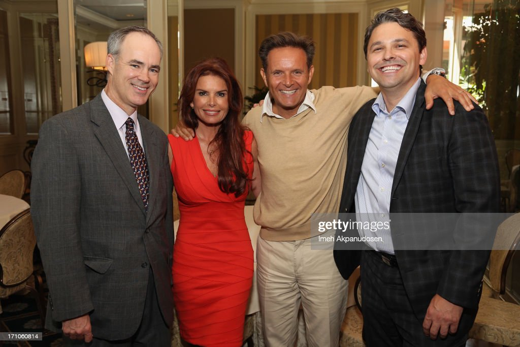 EVP and Chief Marketing Office of Walmart Stephen Quinn, Executive Producers Roma Downey, Mark Burnett and Senior Director of Walmart & Co-Chair of ANA Alliance for Family Entertainment Ben Simon attend Variety's Purpose: The Faith And Family Summit n Association with Rogers and Cowan at Four Seasons Hotel Los Angeles on June 21, 2013 in Beverly Hills, California.