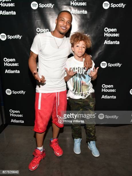 I and Clifford 'King' Joseph Harris III attend the Spotify Open House Mixer at The Gathering Spot on August 7 2017 in Atlanta Georgia