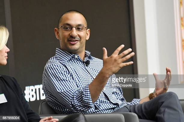 EVP and CMO at Ancestrycom Vineet Mehra speaks during Interbrand Breakthrough Brands 2017 on May 24 2017 in New York City