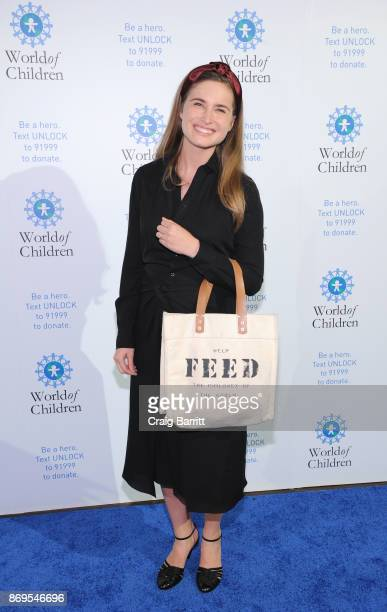CEO and CoFounder of FEED Projects Honorary Chair Lauren Bush Lauren attends World of Children Awards 2017 at 583 Park Avenue on November 2 2017 in...