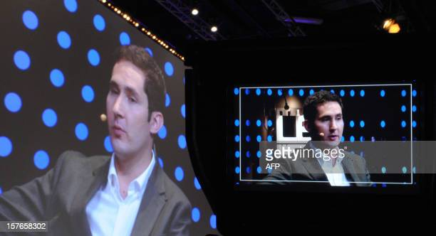 CEO and cofounder of Instagram Kevin Systrom attends a session at LeWeb Paris 2012 in SaintDenis near Paris on December 5 2012 AFP PHOTO ERIC PIERMONT