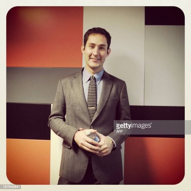 ALTERNATIVE VERSION OF ORIGINAL PICTURE PROCESSED CEO and cofounder of Instagram Kevin Systrom poses during the opening session of LeWeb12 on...