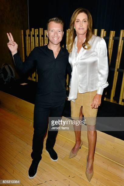 CEO and cofounder Roman Tsunder and television personality Caitlyn Jenner attend WORLDZ Cultural Marketing Summit at Hollywood and Highland on August...