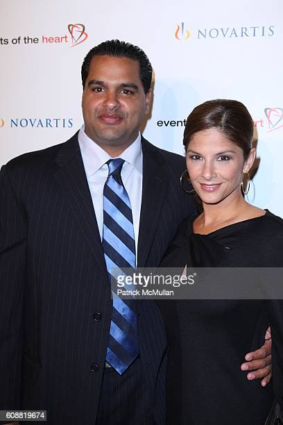 and Darlene Rodriguez attend Celebrity Supported NonProfit EVENTS OF THE HEART Holds First AnnualBenefit Gala HEART ON to Raise Money and Awareness...