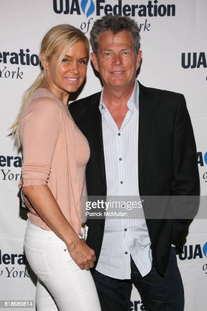 and David Foster attend UJAFEDERATION OF NEW YORK honors JULIE GREENWALD and CRAIG KALLMAN with The Music Visionary of the Year Award at The Pierre...